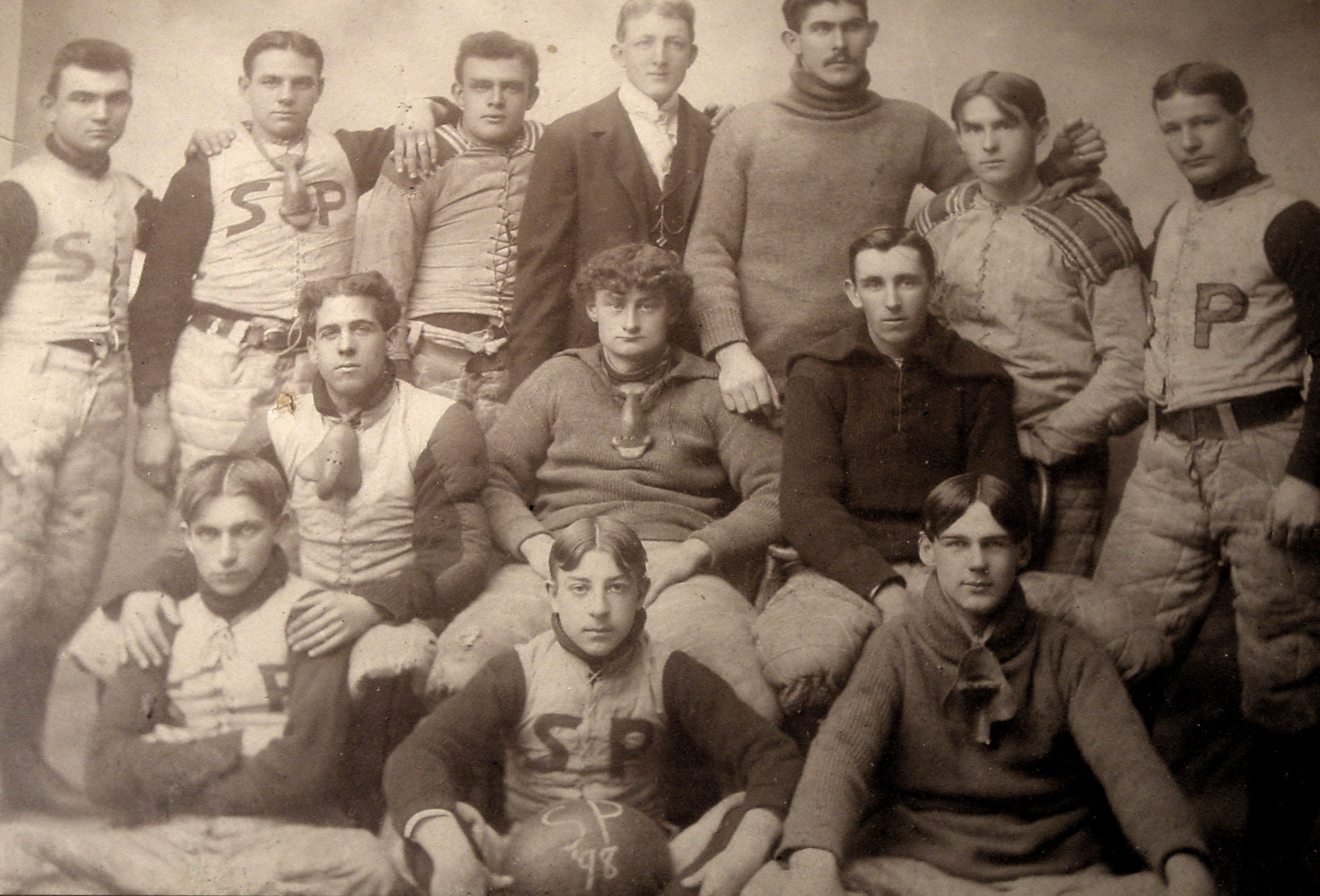 Old SP football photo
