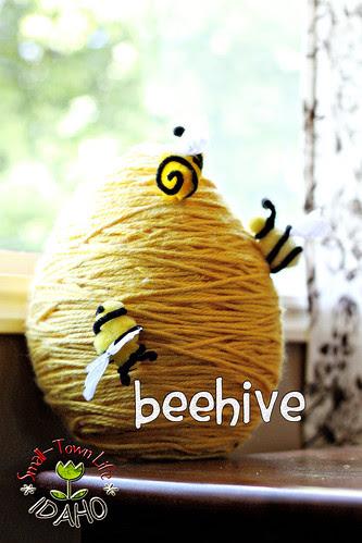 Paper Mache Beehive Pinata