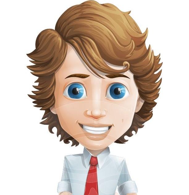 Boy Cartoon Characters With Brown Hair Cartoon Character