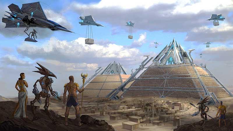 Mısır Piramitlerini uzaylılar mı yaptı sorusu yeniden gündemde!
