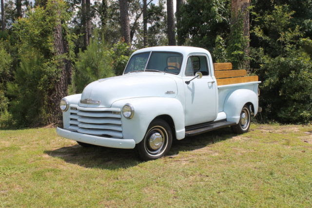 1953 Chevrolet 3100 34500 Miles Powder Blue Pickup Truck 235 I6 3 Speed Manual Classic Chevrolet Other Pickups 1953 For Sale