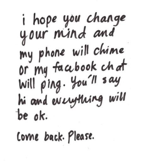 I Want You Back Quotes Sayings I Want You Back Picture Quotes