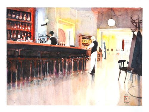 Cafe Einstein, Berlin