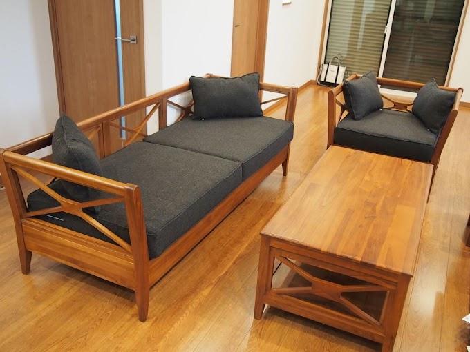 Kursi Kayu Panjang Ruang Tamu | Ide Rumah Minimalis