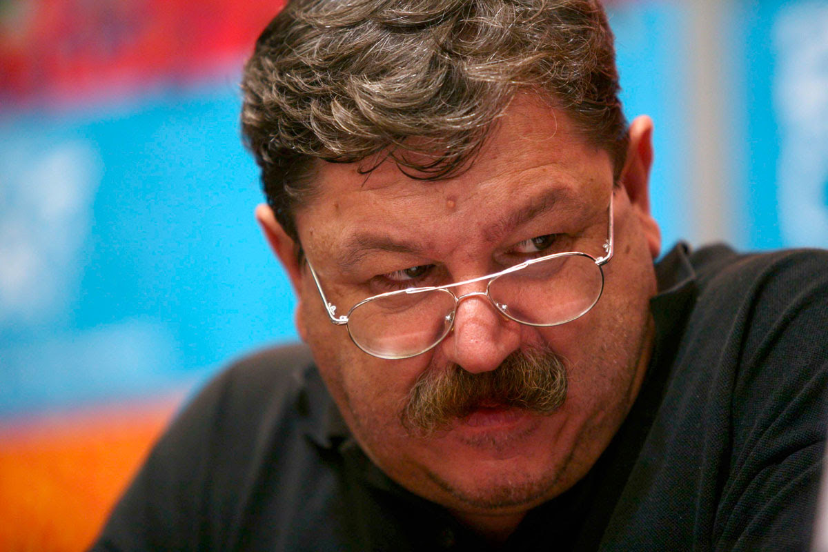 Paco Ignacio Taibo II, escritor. Foto: Marco A. Cruz