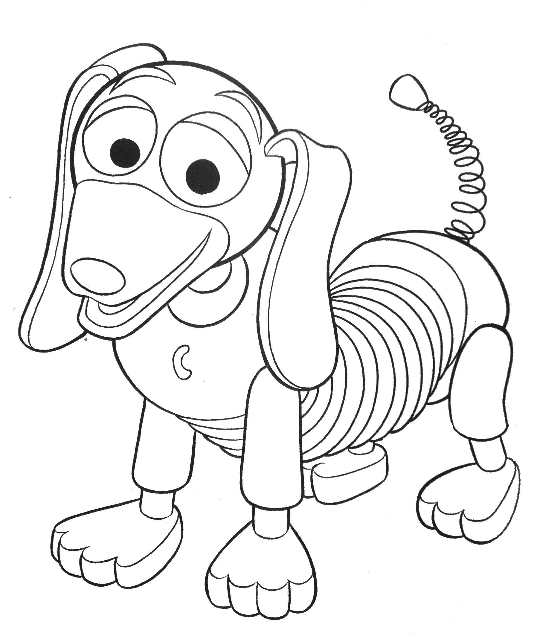 Toy Story Para Colorear Pintar E Imprimir