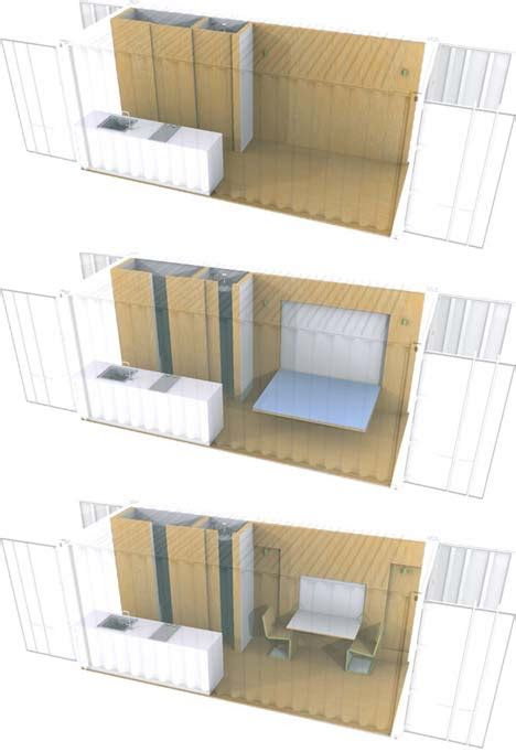 boring  brilliant simple shipping container house plans