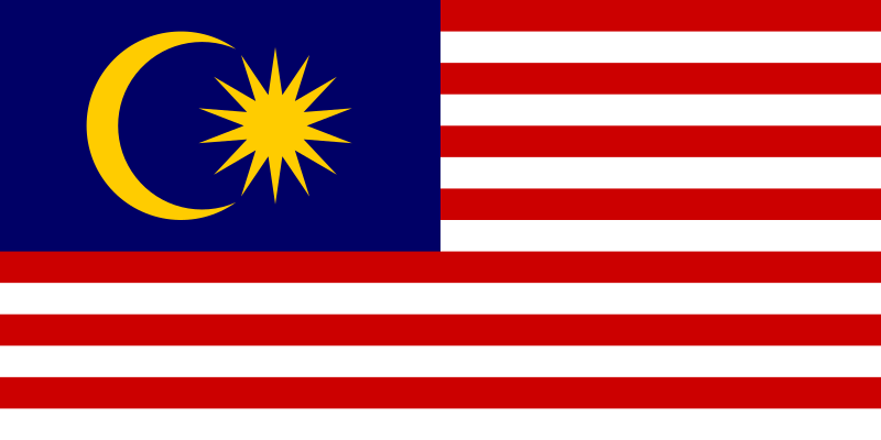 Archivo:Flag of Malaysia.svg