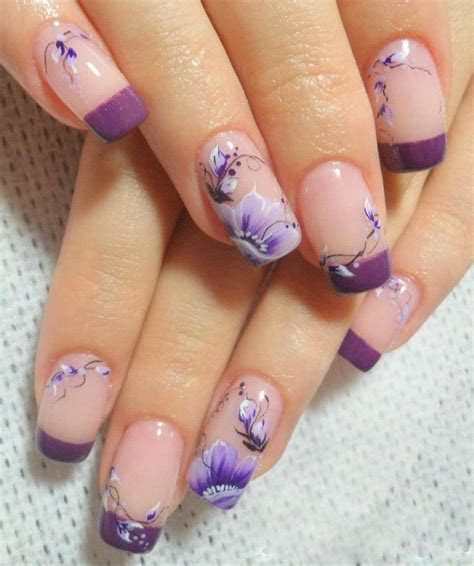 17 Best ideas about Purple Wedding Nails on Pinterest