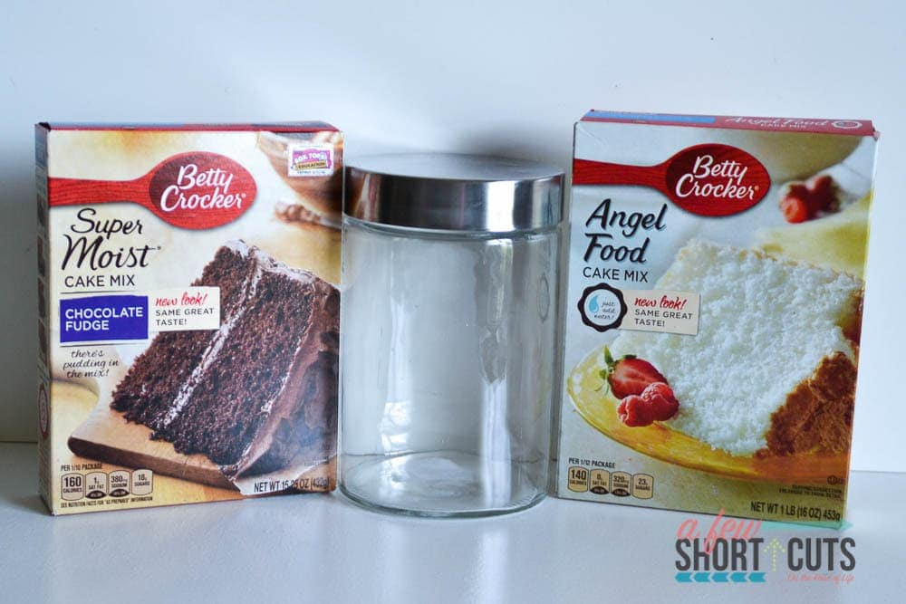 Chocolate Mug Cake Mix - A Few Shortcuts