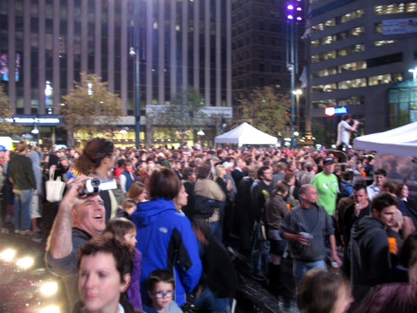Rock Late on Fountain Square