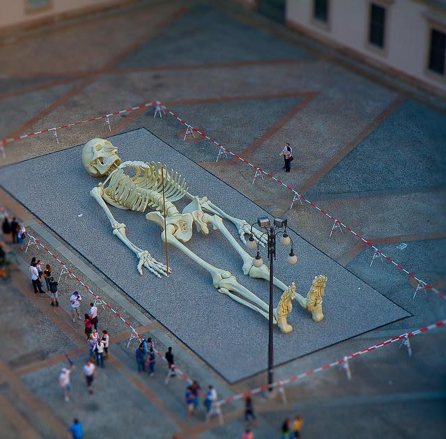 Gino de Dominicis Skeleton, Milan, Italy