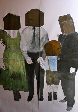 'Family Home', De Laura Medina, Gana El 43 Concurso De Pintura Rafael Zabaleta.
