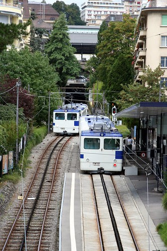Lausanne / Ouchy metro