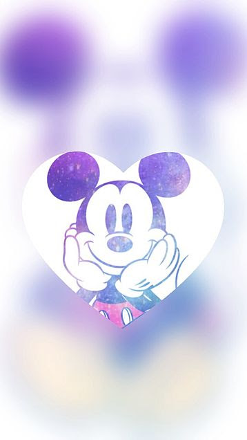 ミッキー ディズニー 待ち受け ロック画面 壁紙 背景 ハート かわいい