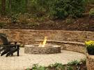 Outdoor Entertaining Area with Fire Pit | Landscaping Kingsville MD
