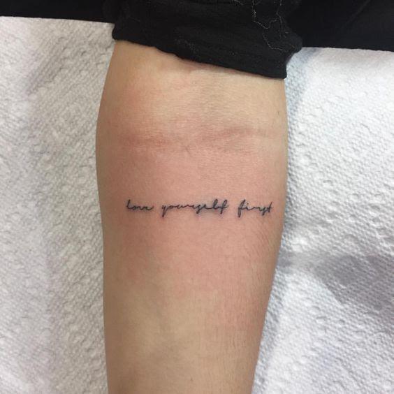 15 Ideas De Lugares En Tu Cuerpo Para Tatuarte Una Frase