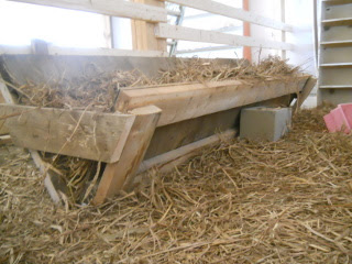 Barn Animal Stall Hay Trough