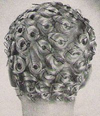 Pincurls with bobbie pins