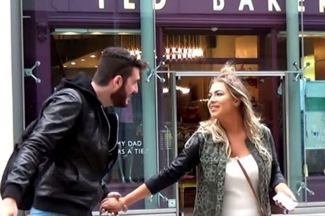 Έτσι κάνει καμάκι ένας Έλληνας στην Αγγλία. 'You are very beautiful eyes'