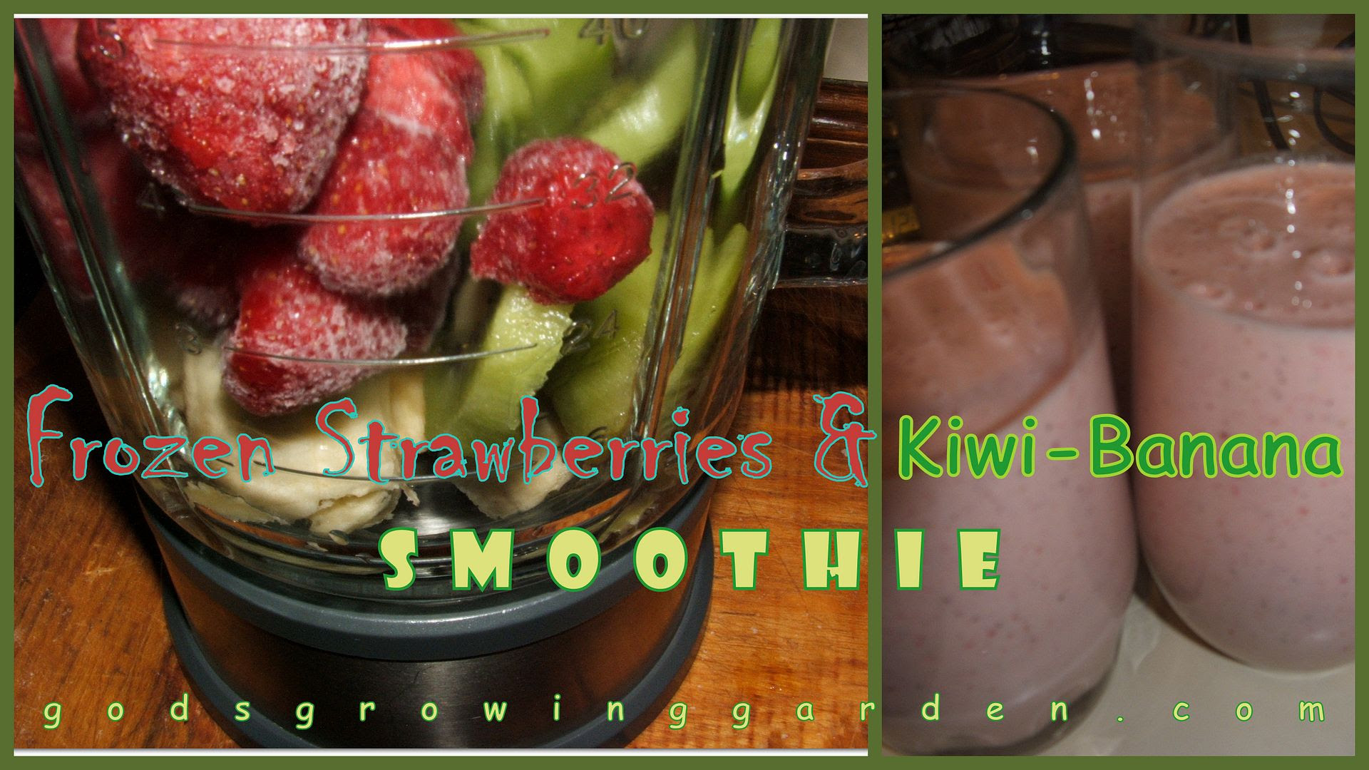 Frozen Strawberry & Kiwi-Banana Smoothie by Angie Ouellette-Tower photo 2014-01-23_zps47aeac33.jpg