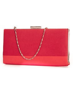Image of Madison Ave Clutch- Red