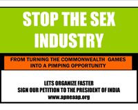 Dont let the sex industry turn the Commonwealth Games into a  pimping opportunity