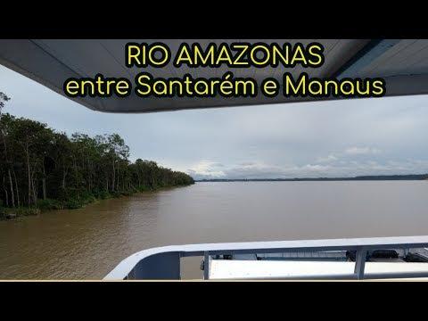 De Santarém  à Manaus