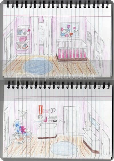 Adorning alabama baby girl miss d 39 s room for Scale room planner