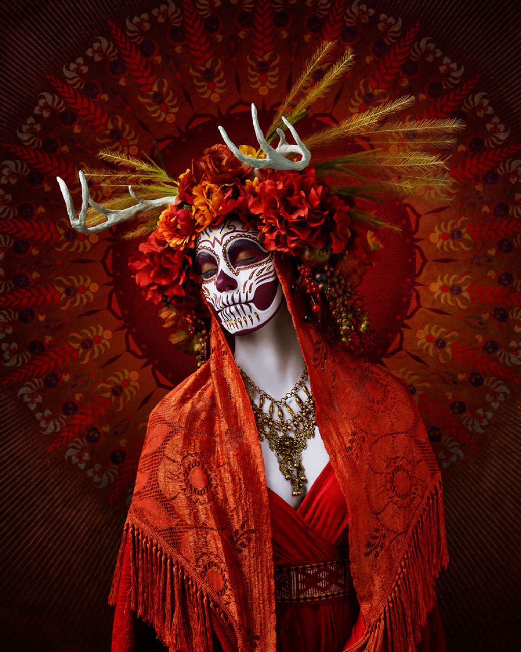 As Mortas: Belezas mortais posam em um colorido tributo ao Dia dos Mortos 03