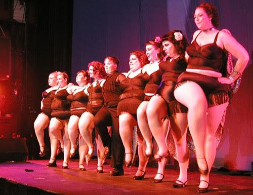 The Original Fat Bottom Revue at TOR, 2003