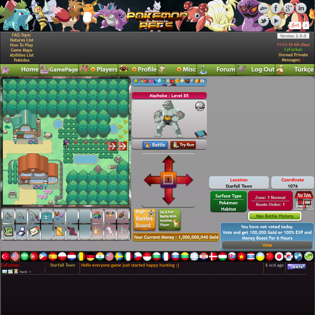 PokemonPets: Free Online Pokemon MMORPG Game images Free