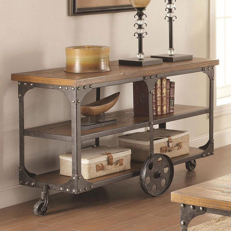 Industrial Sofa Table - Sofa Tables - Occasional and ...