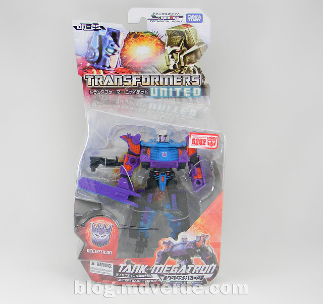 Transformers Tank Megatron Deluxe - United - caja