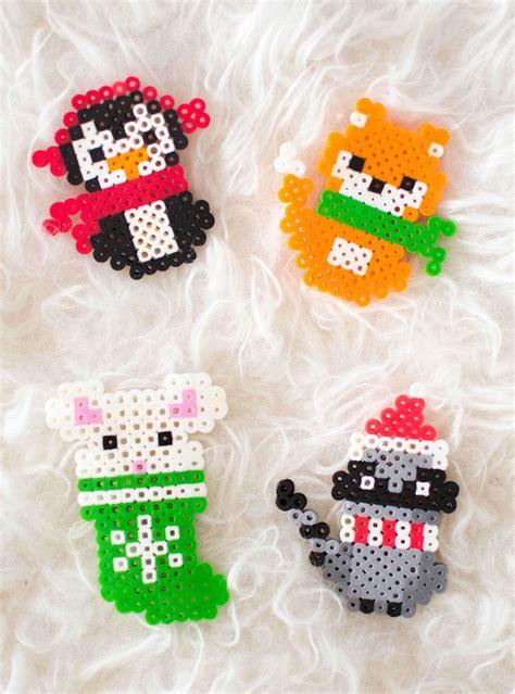 christmas perler bead patterns fun loving families