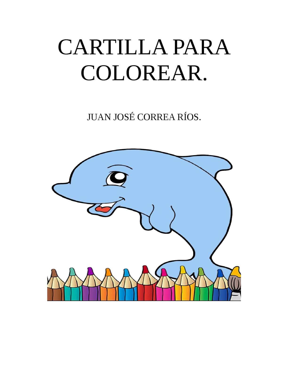 Calaméo Cartilla Para Colorear