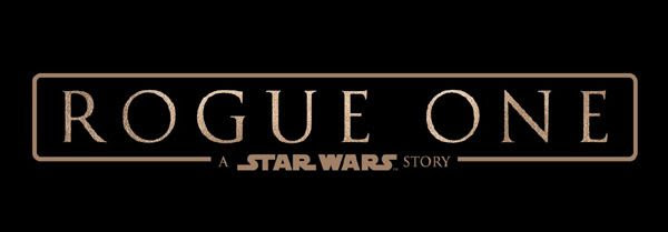 The official title logo for STAR WARS: ROGUE ONE.