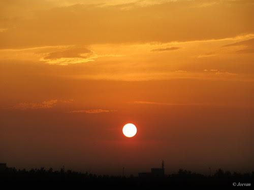 Sunset at Karaikal