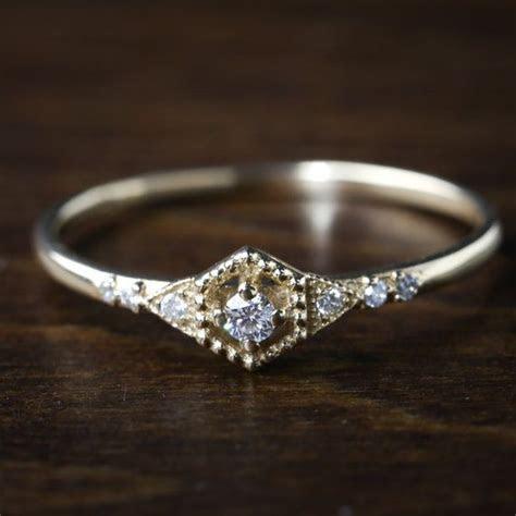 Best 25  Dainty engagement rings ideas on Pinterest   Rose