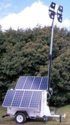Portable LED Lighting Powered by Renewable Energy From The Sun