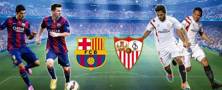 مشاهدة مباراة برشلونة و إشبيلية مباشر - الدوري الإسباني