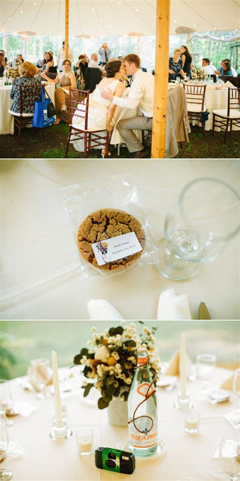 Long Island Wedding at Peconic River Herb Farm from Love