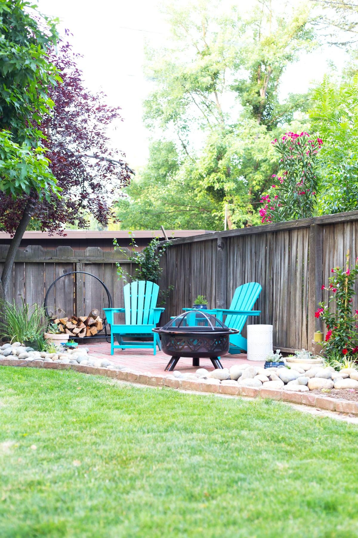 DIY Backyard Patio » Lovely Indeed