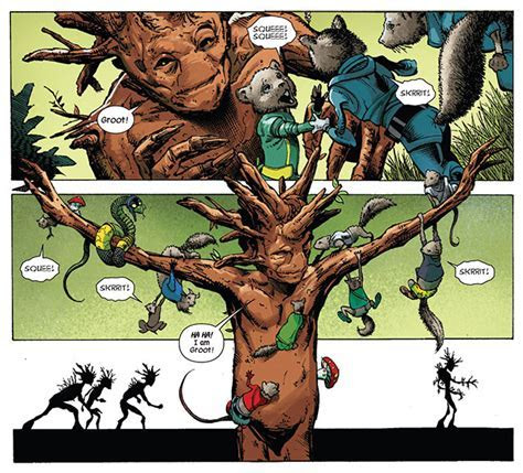 Guardians of the Galaxy reveals Groot origin   L7 World