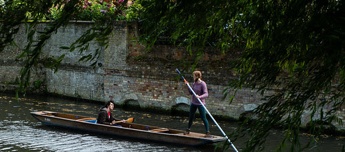 Punting on the Cam by ghaff