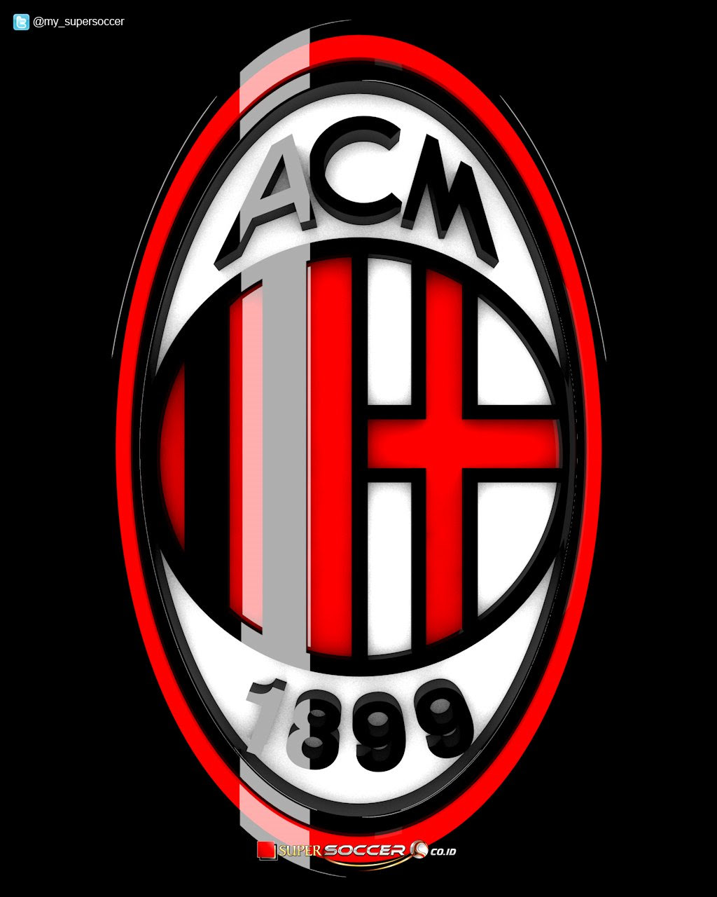 Logo Ac Milan Wallpaper 2015 Wallpapersafari