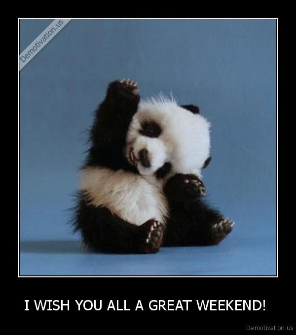 I Wish You All A Great Weekend Demotivationus