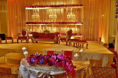 Muslim Reception Decor   Wedding Flowers and Decorations