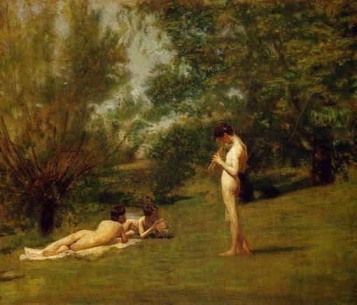 Eakins, Thomas (1844 - 1916) - Arcadia - ca. 1883