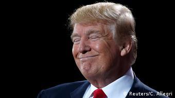 USA Michigan Präsidentschaftskandidat Donald Trump (Reuters/C. Allegri)
